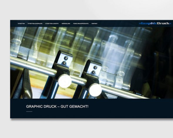 GRAPHIC DRUCK WEBDESIGN